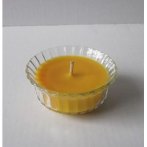 citronella glass candle